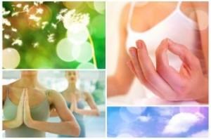 yoga plusieurs images